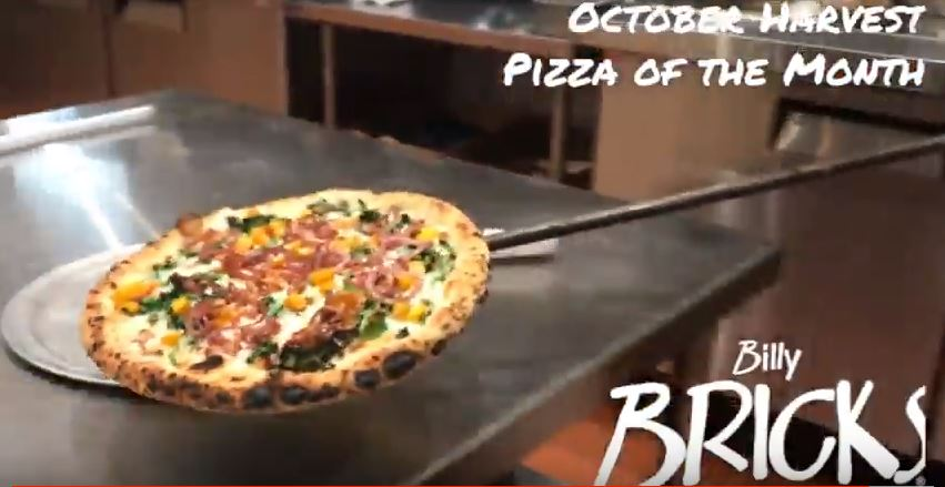 October Harvest Pizza of the Month
