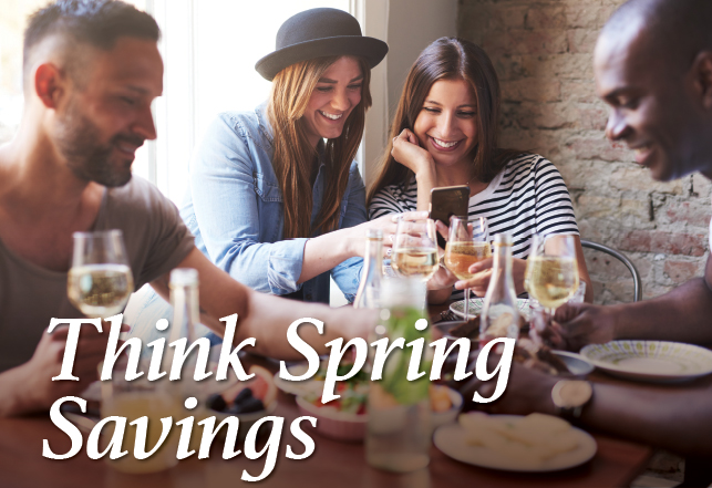 Think Spring Savings