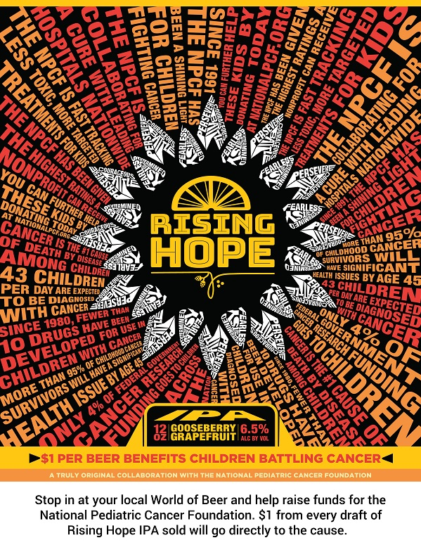 Drink a Beer, Fight Pediatric Cancer