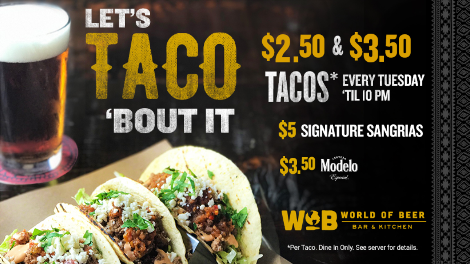 Let's Taco About It!