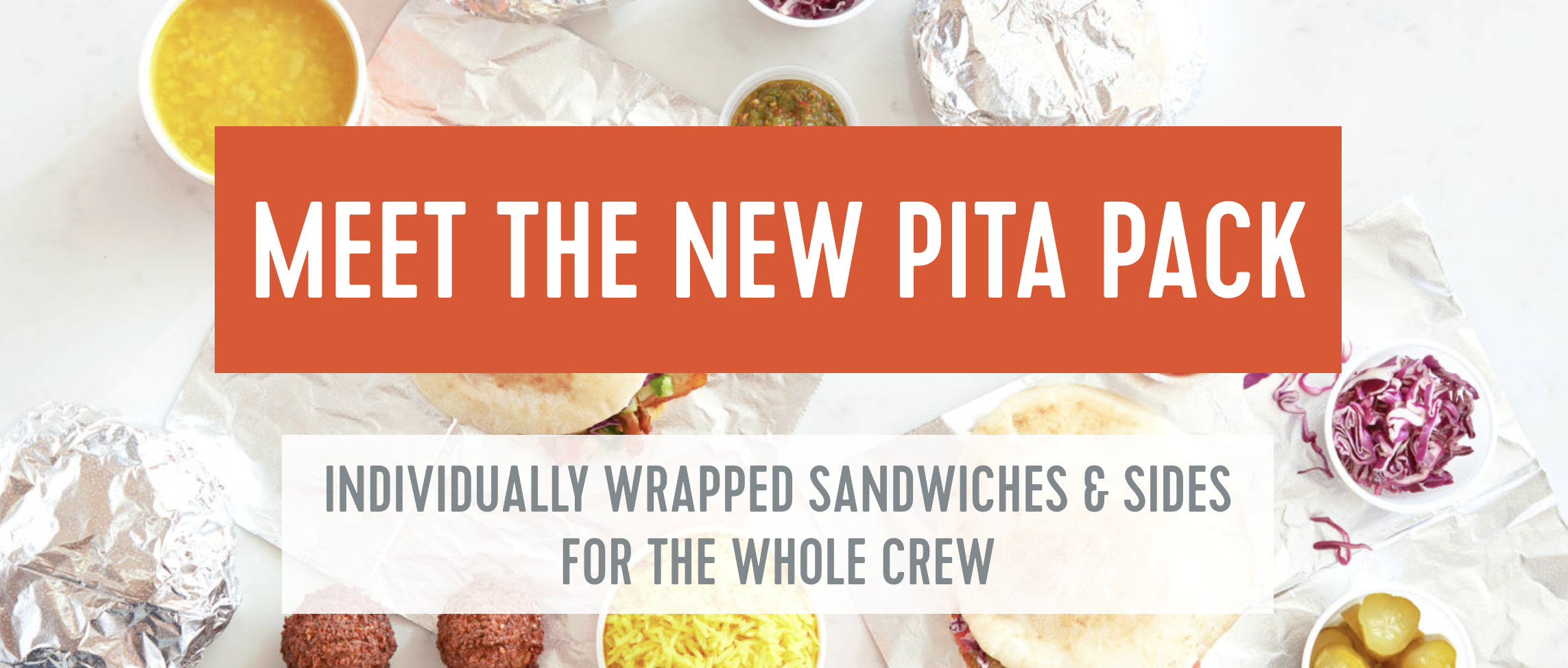 Try Our New Pita Package
