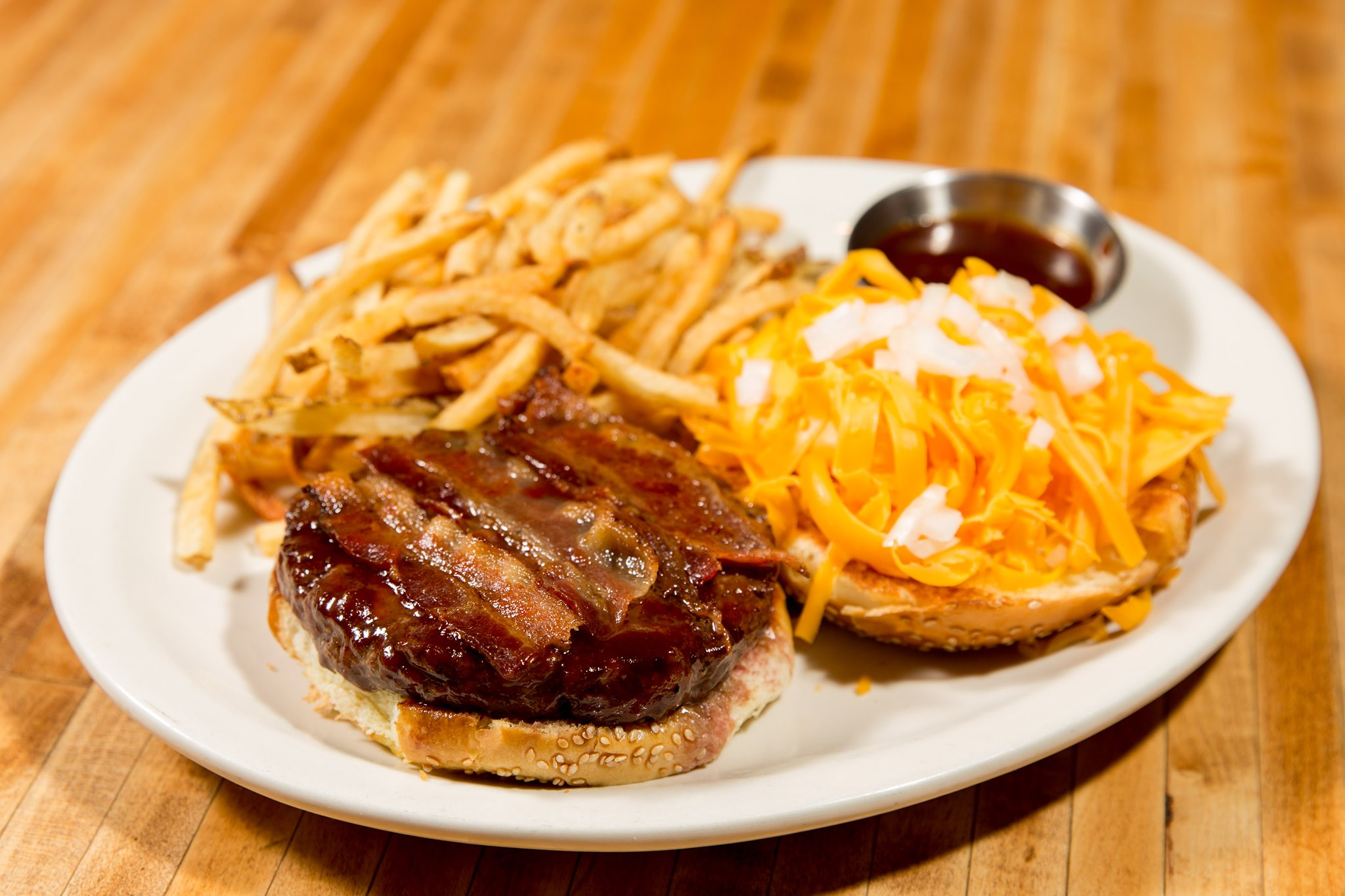 Try Our BBQ Bacon Burger