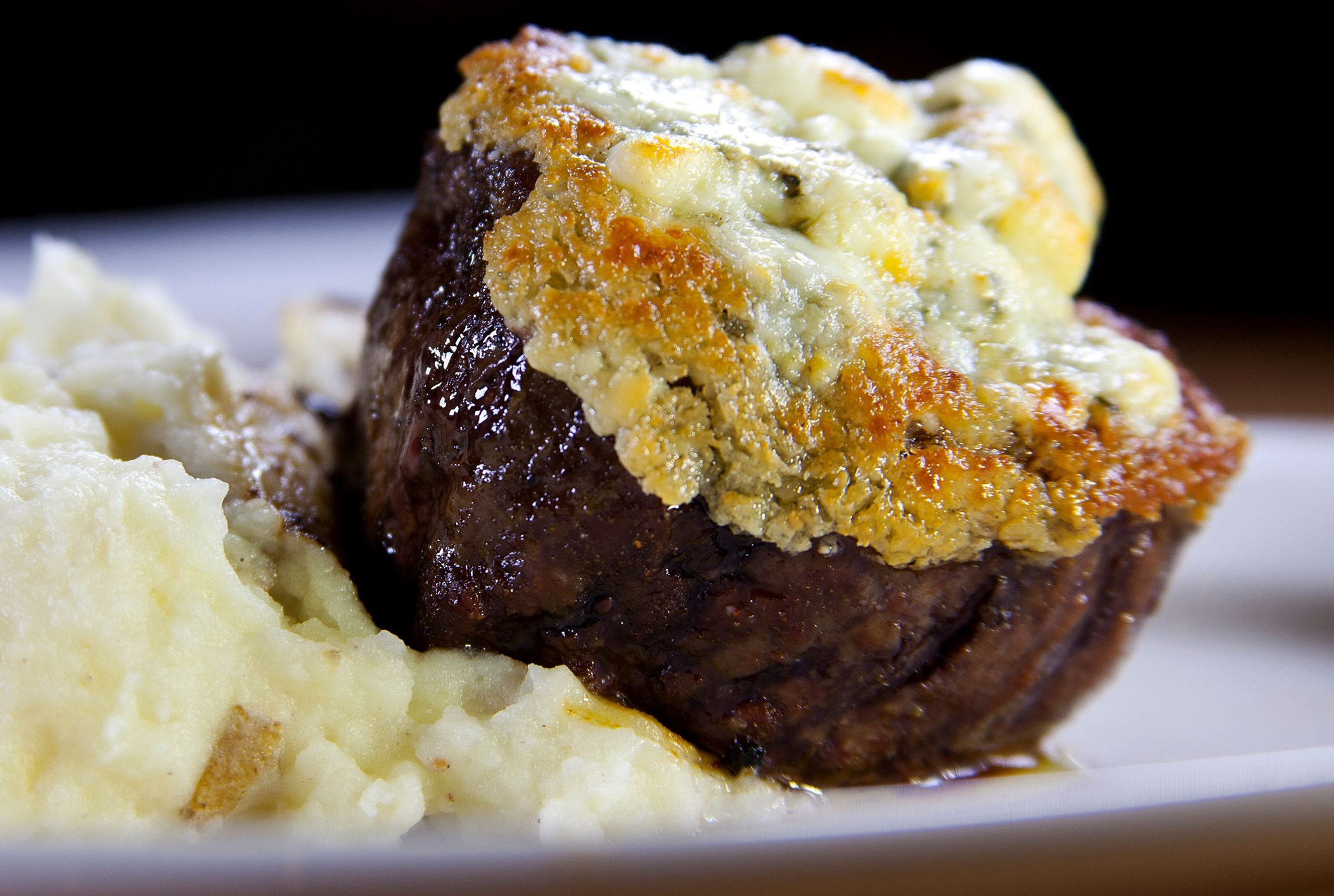 Try Our Bleu Cheese Crusted Filet