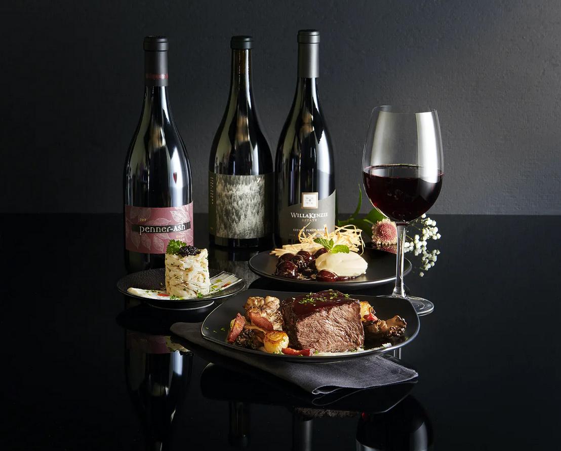 Morton's & Jackson Family Wine Tasting